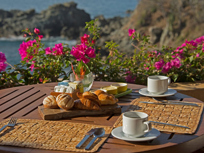 Outdoor Dining by the Sea